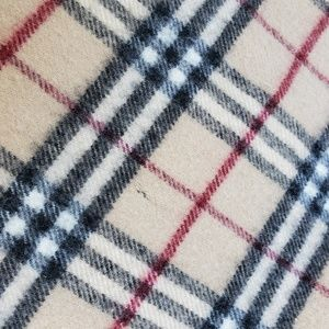 Burberry Accessories - Burberry London Brown Plaid Scarf 100% Lambswool